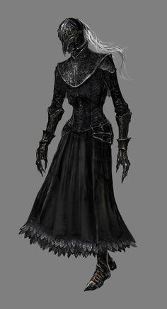 dark souls 3 concept art - Lady Yuria