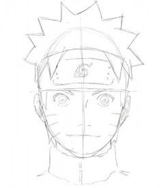how to draw naruto shippuden characters step by step