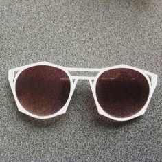 Test 3D printed sunglasses