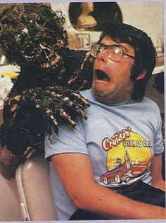 Stephen King can really look like a character created by Stephen King.