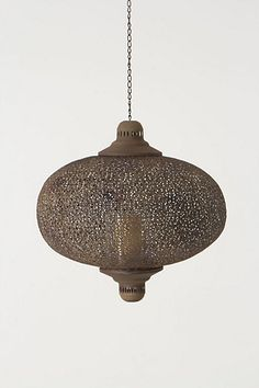 Large Filigree Waltz Lantern - Anthropologie