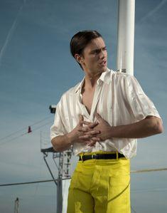 sergio carvajal exclusive photos 002 Fashionisto Exclusive | Sergio Carvajal in Texas Barcelona by Simone Siel
