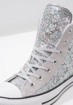 eb29ba2b3a4 CHUCK TAYLOR ALL STAR - Sneaker high - silver mouse white - Zalando.de