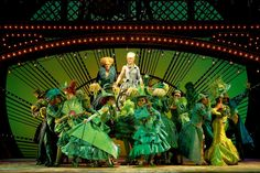 One Short Day in the Emerald City - I am so ready to see this again. Broadway Lyrics, Broadway Wicked, Broadway Shows, The Witches Of Oz, Wicked Costumes, Defying Gravity, Theatre Nerds, The Great White, Dreams Do Come True