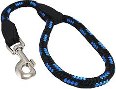 Dogs My Love 18inch Rope Dog Leash Short BlueBlack Large 12 12mm diam ** To view further for this item, visit the image link. Note: It's an affiliate link to Amazon.