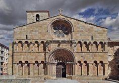 Iglesia de Santo Domingo, Soria - Portada Románica, fachada occidental