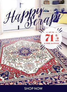Deal of the day: up to 71 off  Free Shipping on Serapi rugs! Use the code:SERAPI71FB #rug