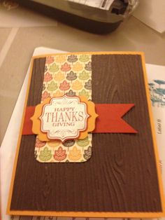 Make a card to show how thankful you are for others!