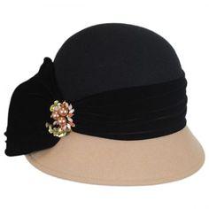60943bbc available at #VillageHatShop Cloche Hats, Velvet Hat, Flapper Hat, Hat  Stands,