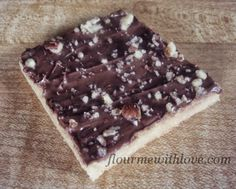 Flour Me With Love: English Toffee Cookie Bars
