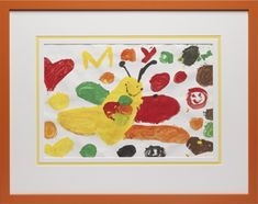 Children's Art - The Great Frame Up #kidsart #childrensart #artwork #customframing
