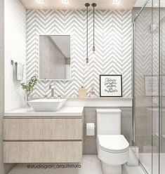 Want to refresh your small bathroom decor? Here are Cute and Best Half Bathroom Ideas That Will Impress Your Guests And Upgrade Your House. best bathroom decor 50 Half Bathroom Ideas That Will Impress Your Guests And Upgrade Your House Bathroom Layout, Modern Bathroom Design, Bathroom Interior Design, Serene Bathroom, Master Bathrooms, Budget Bathroom, Small Bathroom Ideas, Simple Bathroom Designs, Diy Bathroom