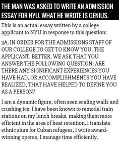 nyu college essay requirements New york university (nyu) 2017-18 application essay explanations ladies and gentlemen, you are about to witness an optical illusion the lengthy paragraph below comprises one (1), and only one (1) college essay prompt.