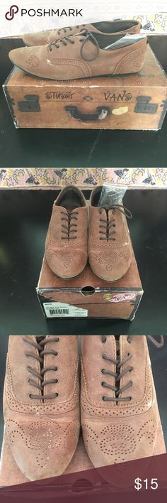 b10a27844a Stussy x Vans Women s Nubuck Oxfords I m a huge fan of Stussy and Vans