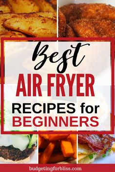 Are you looking for the best air fryer recipes? These recipes are perfect for the beginner just getting started. Check out these 25 Best Air fryer Recipes for healthier cooking. Air Fyer Recipes, Air Fryer Recipes Snacks, Air Fryer Dinner Recipes, Air Fryer Cooking Times, Cooks Air Fryer, Actifry Recipes, Air Fried Food, French Toast