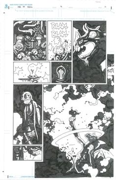 Hellboy in Hell issue 4, pg11 Comic Art