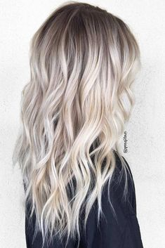 50 Long Blonde Hair Color Ideas in Many of us wondered that at some point we would look like athlete blonde tresses. Don't worry here we have prepared a list of yellow color ideas to he…, Long Blonde Hair Color Platinum Blonde Hair Color, Blonde Hair Shades, Ash Blonde Hair, Balayage Hair Blonde, Ombre Hair Color, Blonde Color, Hair Colour, Blonde Highlights On Dark Hair All Over, Brown Hair
