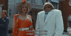 The Addams Family Values: a little marriage lesson from...  Debbie