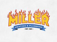 logos & signets Heating And Plumbing, Badge Logo, Band Logos, Kids Wear, Metal Working, Couple, Book Markers, Metalworking, Children Clothes