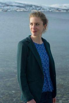 Blixen Blazer Jersey Jacket PDF sewing pattern for women | Wardrobe By Me