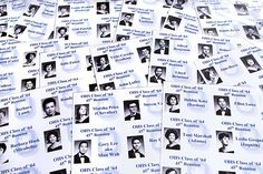 218/365 Name tags for my 45th year high school reunion thi… | Flickr