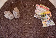 Patrón de alfombra de ganchillo XXL (más grande) - (En Español) ♥ ♥