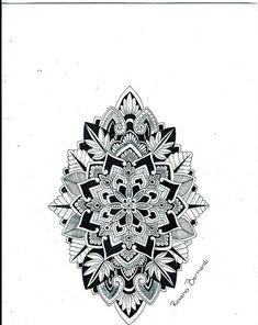 Mandala shield of life tattoo design by Roxena Bernardi (tattoo designer/artist). This lady designs amazing mandala tattoos. I love the shape of this one, and want something similar on my forearm. Mandala Tattoo Design, Mandala Tattoo Men, Geometric Mandala Tattoo, Mandala Flower Tattoos, Flower Tattoo Designs, Tattoo Designs Men, Tattoo Flowers, Lotus Mandala, Mehndi Flower