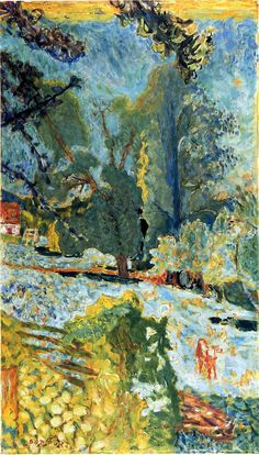 ☼ Painterly Landscape Escape ☼ landscape painting by Curt Butler - Pierre Bonnard