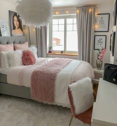 32 Best Bedroom Decor Ideas For The Most Stylish Room Imaginable - Stylish Bunny. - 32 Best Bedroom Decor Ideas For The Most Stylish Room Imaginable – Stylish Bunny - Comfy Bedroom, Stylish Bedroom, Small Room Bedroom, Room Ideas Bedroom, Decor Room, Home Decor Bedroom, Master Bedroom, Bedroom Signs, Bed Room