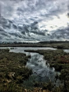Across the marshland at Mudeford Sandspit Mountains, Nature, Travel, Naturaleza, Viajes, Trips, Off Grid, Natural, Mother Nature