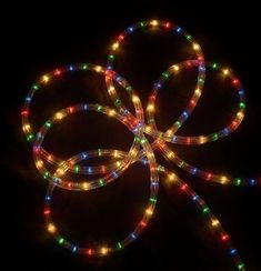 Shop for Multi-Color Indoor/Outdoor Christmas Rope Lights. Get free delivery On EVERYTHING* Overstock - Your Online Christmas Store! Get in rewards with Club O! Diy Christmas Light Decorations, Christmas Rope Lights, Mini Christmas Tree, White Christmas, Christmas Bulbs, Christmas Ideas, Garden Decorations, Holiday Lights, Christmas Morning