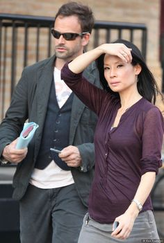 Pictures Of Elementary Stars Jonny Lee Miller And Lucy Liu On Set - Sky Living HD