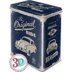Nostalgic Μεταλλικό κουτί μεγάλο VW Beetle - The Original Ride