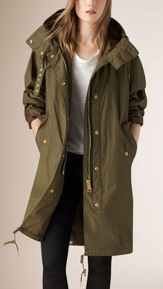 Oversize Technical Parka Jacket | Burberry