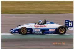 Dario Franchitti Formula Vauxhall Lotus. 1993 Formula Vauxhall Lotus Championship Silverstone.