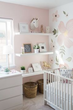 baby girl nursery room ideas 182677328623004896 - Whimsical Nursery Source by Baby Bedroom, Baby Room Decor, Nursery Room, Baby Girl Nursery Decor, Wall Decor For Nursery, Wallpaper For Nursery, Girl Wall Decor, Little Girl Wallpaper, Wallpaper Childrens Room