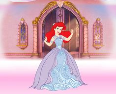 ariel ball- I loved this one almost more than the girls.also loved the music Disney Princess Fashion, Disney Princess Dresses, Disney Style, Disney Love, Walt Disney, Disney Fashion, Ariel Pictures, Princess Pictures, Disney Pictures
