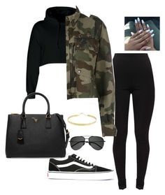 Untitled #5 by jacqueline-jj on Polyvore featuring polyvore, mode, style, Faith Connexion, Vans, Prada, Lana, Yves Saint Laurent, fashion and clothing