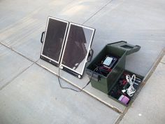 Simple DIY portable solar power box
