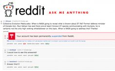 Reddit Permanently Deleted Our Account When We Asked NASA About Alien Life During AMA On February 22nd 2017 NASA held a press conference to reveal they had found 7 exoplanets around a cool star and that some of those planets could be habitable. Following this announcement NASA held an AMA on Reddit forthe public to ask questions.  When we heard of this announcement we were excited about the opportunity to not only hear what NASAwas going to share but also aboutthe chance to ask an important…