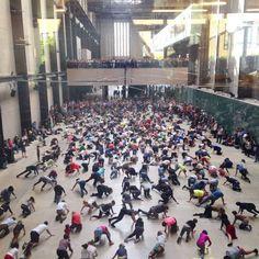 Boris Charmatz transforms Tate Modern into a Dancing Museum