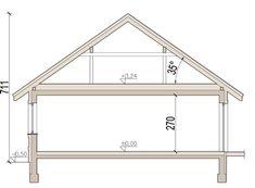 DOM.PL™ - Projekt domu ARN Mokka 2 CE - DOM RS1-78 - gotowy koszt budowy Utila, Interior Design Living Room, Living Room Decor, Design Case, Wardrobe Rack, Bungalow, House Plans, Floor Plans, House Design