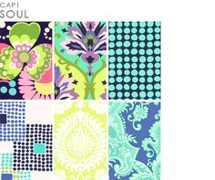 """Amy Butler - Love Collection (look at the ones under the """"quilting and fashion"""" heading)"""