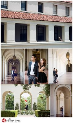 Pasadena Engagement Session  L.A. Arboretum and Pasadena City Hall  #engagementsession #LAweddingphotographer #innesphotography www.innesphotography.com