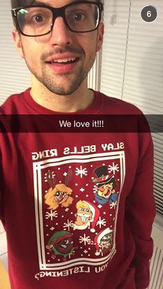 I want that sweatshirt!