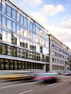 Burckhardt+Partner AG, Mark Niedermann · Conversion and Reconstruction of Headquarters Nationale Suisse in Basel · Divisare