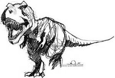 t rex drawing - Bing Images