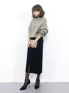erikoさんの「ホールガーメント ニュアンスネック ニット◆(SLOBE IENA)」を使ったコーディネート #FashionableOutfits