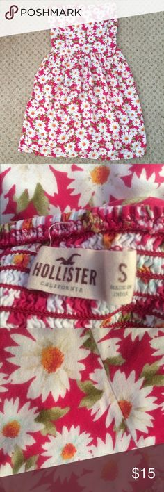 Strapless Hollister Dress Strapless Hollister dress size small. In perfect condition!  🚫No trades or modeling 📦Same/next day shipping Hollister Dresses