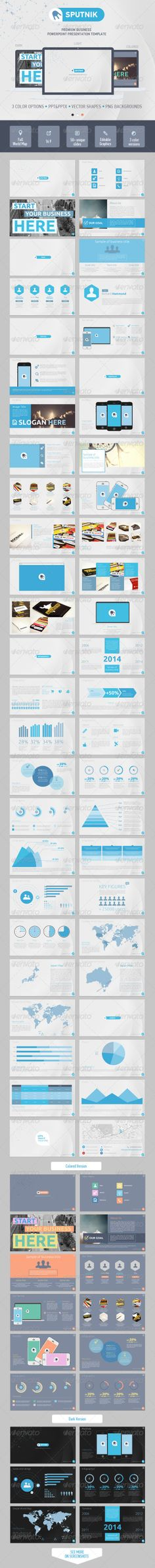Sputnik PowerPoint Presentation Template (Powerpoint Templates) #Powerpoint #Powerpoint_Template #Presentation